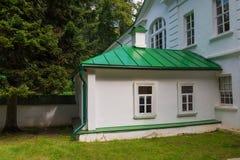 Hus av Leo Tolstoy arkivbild