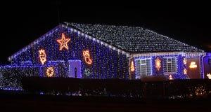 Hus av ljus arkivfoton