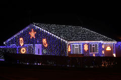 Hus av ljus arkivbild