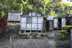Hus av Madagascar Arkivfoton