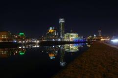 Hus av musik i Moskva royaltyfria bilder