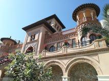 Hus av Navajas i Torremolinos, Costa del Sol royaltyfria foton