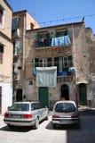 Hus av Palermo, Sicily Arkivfoto