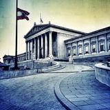 hus av parlamenten i vienna Arkivbilder