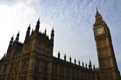 Hus av parlamentet   Big Ben Royaltyfri Fotografi