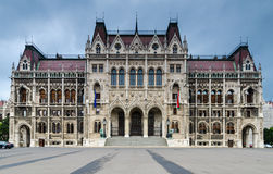 Hus av parlamentet, Budapest Royaltyfria Foton