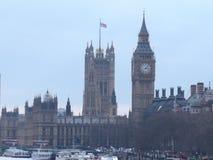 Hus av parlamentet och Big Ben arkivfoto