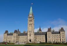 Hus av parlamentet - Ottawa Arkivbild