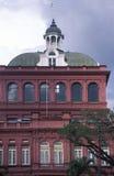 Hus av parlamentet, Trinidad och Tobago Arkivfoto