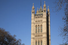 Hus av parlamentet, Westminster; London Arkivfoto