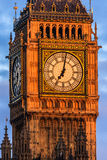 Hus av parlamentet, Westminster, London Arkivbild