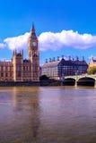 Hus av parlamentet, Westminster, London Royaltyfri Fotografi