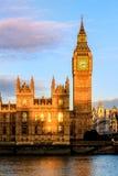 Hus av parlamentet, Westminster, London Royaltyfri Foto