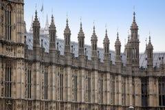 Hus av parlamentet, Westminster slott, London Royaltyfri Fotografi