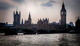 Hus av parlamentslotten av Westminster Royaltyfria Foton