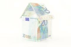 Hus av pengar Royaltyfri Foto