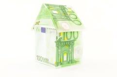Hus av pengar Royaltyfri Bild