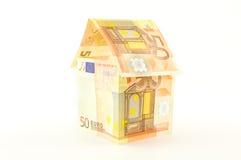 Hus av pengar Royaltyfri Fotografi