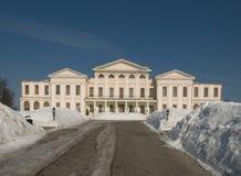 Hus av Prince Golitsyn i godset Dubrovitsy Fotografering för Bildbyråer