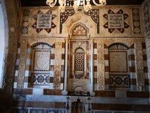 Hus av prinsen Beit el Dine fotografering för bildbyråer