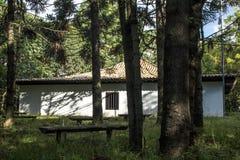 Hus av Sertanistaen Arkivfoto