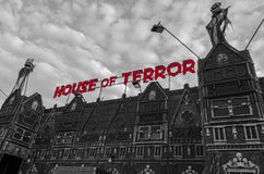 Hus av skräcken Royaltyfri Foto