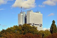 Hus av sovjet  royaltyfria bilder