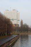 Hus av sovjet royaltyfria foton