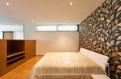 Hus brett sovrum Fotografering för Bildbyråer