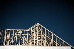hus för 3 konstruktion Arkivbilder