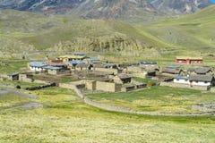 Hus för Altiplano bergby Royaltyfri Fotografi