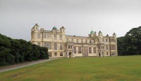 hus för audleyengland essex Arkivfoton