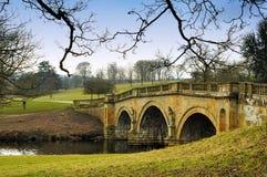 hus för chatsworthgodsträdgård Royaltyfria Bilder