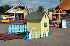 Hus för ett barn Royaltyfri Bild