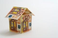 hus för euro 50 Royaltyfri Bild