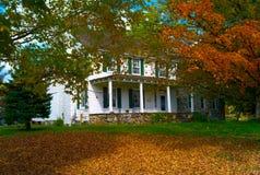 Hus för gammalt land 2 royaltyfri bild