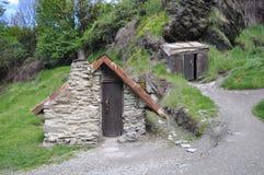 Hus för guld- gruvarbetare Royaltyfria Foton