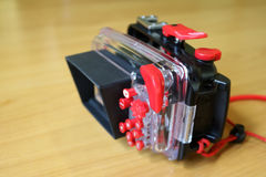 Hus för kompakt digital kamera Royaltyfri Bild