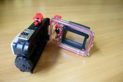 Hus för kompakt digital kamera Royaltyfri Fotografi