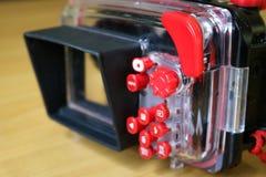 Hus för kompakt digital kamera Royaltyfri Foto