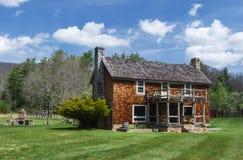 """Hus för loge för Glen Alton Farm †""""huvudsakligt Royaltyfria Foton"""