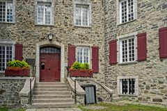 Hus för Maison historiqueChevalier fotografering för bildbyråer