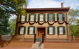 Hus för president Lincoln Royaltyfria Bilder