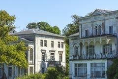 Hus för projekt för naturHeiligendamm renovering Arkivfoto