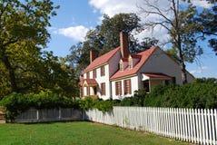 Hus för St. George Tucker - koloniala Williamsburg Royaltyfri Fotografi