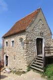 Hus från den Rasnov citadellen Arkivbilder
