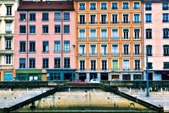Hus. Frankrike Arkivbilder