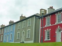 Hus i Aberaeron Royaltyfria Foton
