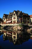 Hus i Alsace Royaltyfri Foto