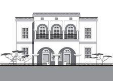 Hus i arabisk stil Arkivbilder